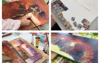 Creatief schilderen