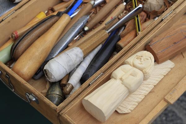 beeldhouwen hout